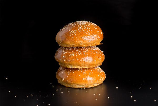 Burgerbuns aus Briocheteig