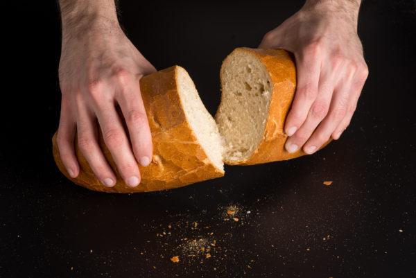 Sandwich Aufgeschnitten
