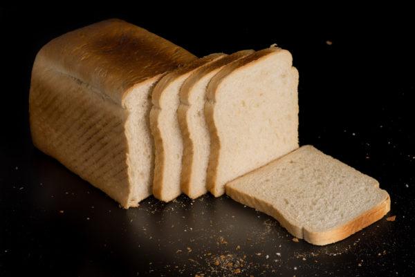 Toastbrot Aufgeschnitten Scheiben